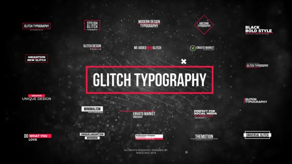 Cover Image for Glitch Modern Titles // FCPX or Apple Motion