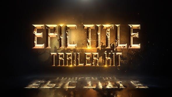 Thumbnail for Epic Title Trailer Kit