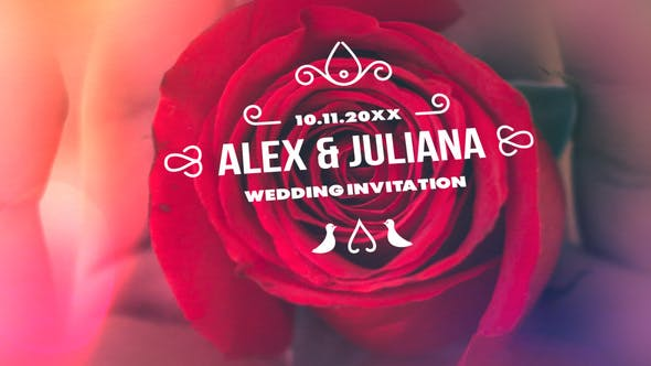 Thumbnail for Minimal & Luxury Wedding Titles