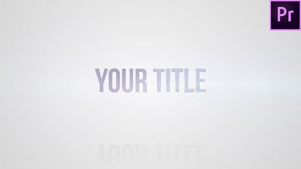 Simple Title Reveal