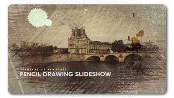Thumbnail for Pencil Drawing Parallax Slideshow