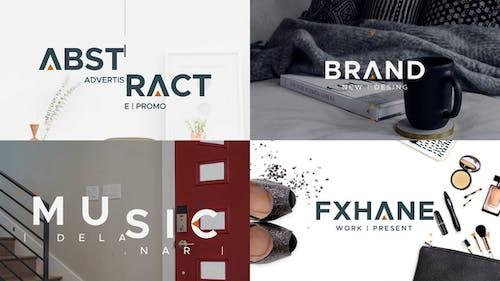 Abstrakte Werbung - Promo