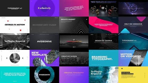 Thumbnail for Typography Slides