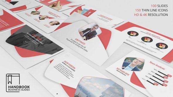 Cover Image for Handbook Business Slides