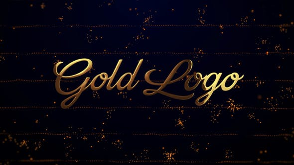 Thumbnail for Gold Logo Reveal (Particles Opener)