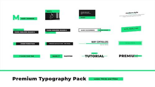 Premium Typography Pack