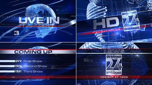 Broadcast Design - Complete News Package 1