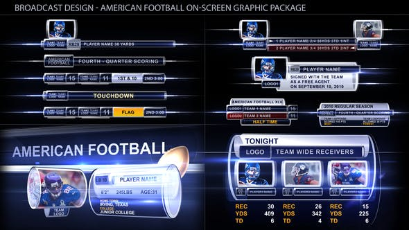 Thumbnail for Broadcast Design - Sport on-screen graphic package