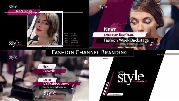 Broadcast Design - Fashion TV Channel Package