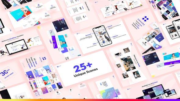 Thumbnail for Website Presentation Pack
