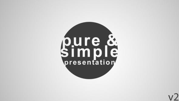 Pure and Simple - Presentation