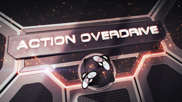 Thumbnail for Action Overdrive 3D Package