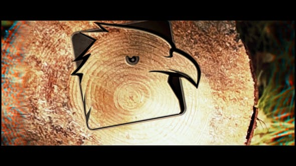 Thumbnail for Saw Cut Tree Logo  | After Effects Template