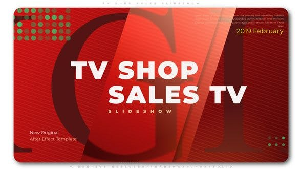Thumbnail for TV Shop Sales Slideshow