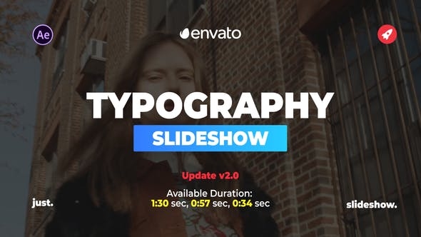 Thumbnail for Beautiful Typography Slideshow