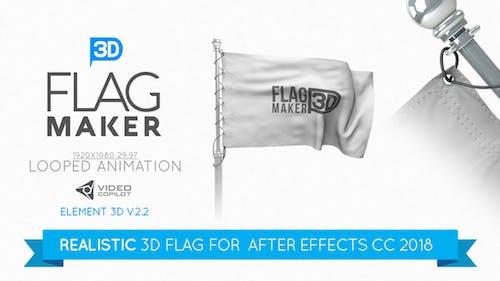 Element 3D Flag Maker