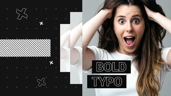 Thumbnail for Bold Typo Opener