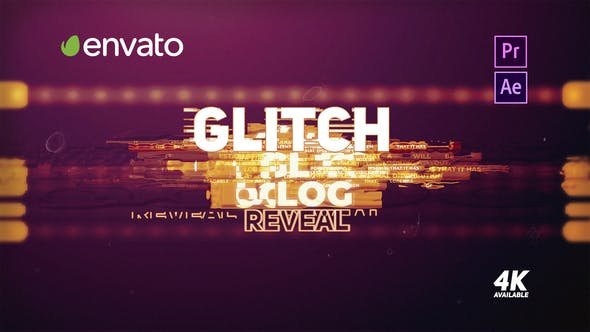 Thumbnail for Glitch Logo Reveal - Premiere Pro