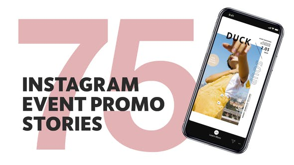 Thumbnail for 75 Insta Event Promo Stories