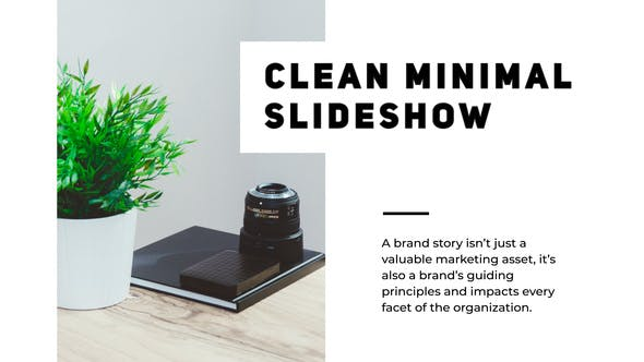 Thumbnail for Minimal Clean Presentation