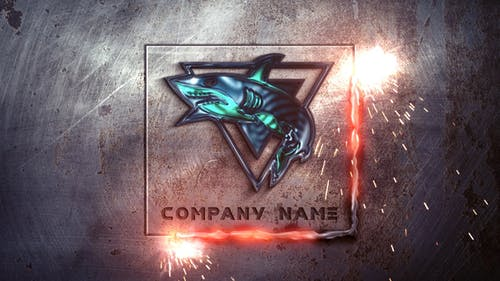 Metal Industrial Logo