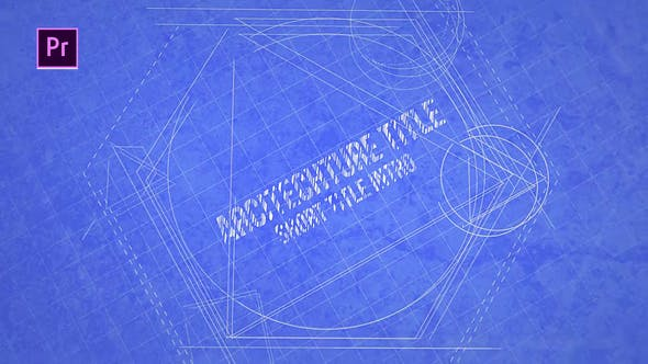 Cover Image for Blueprint Title Design