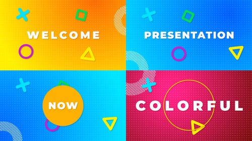 Color Typography Stomp