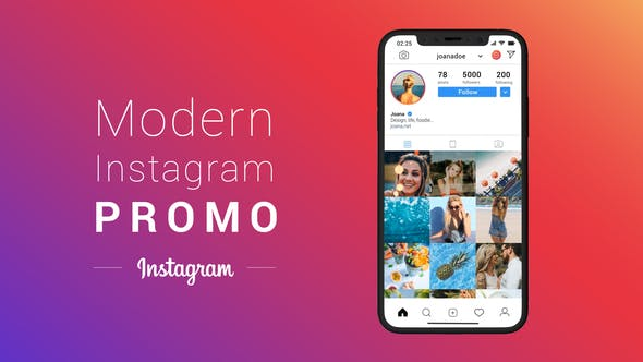 Thumbnail for Modern Instagram Promo
