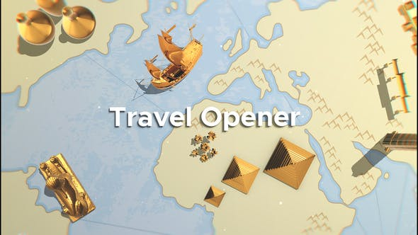 Thumbnail for Travel Opener  | After Effects Template
