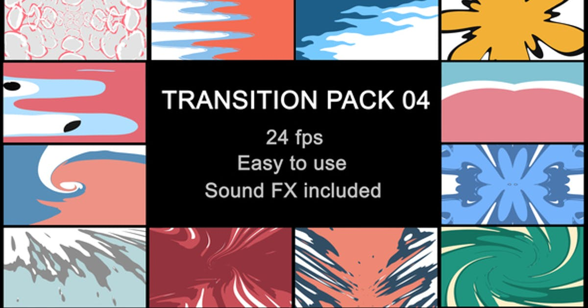 Download Liquid Transitions Pack 04 by MisterFlashAnimation