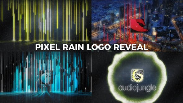 Thumbnail for Pixel Rain Logo Reveal