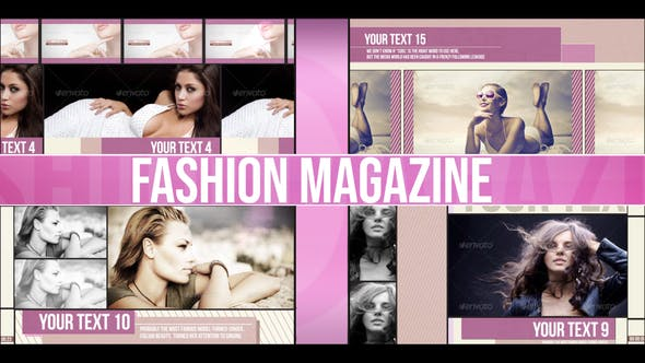Thumbnail for Fashion Magazine (Dynamic Slideshow)