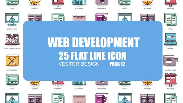 Thumbnail for Web Development - Flat Animation Icons