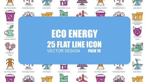 Eco Energy - Flat Animation Icons