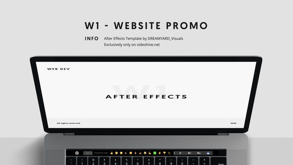 Thumbnail for W1 - Website Promo
