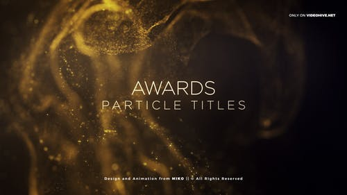 Awards Particles Titles