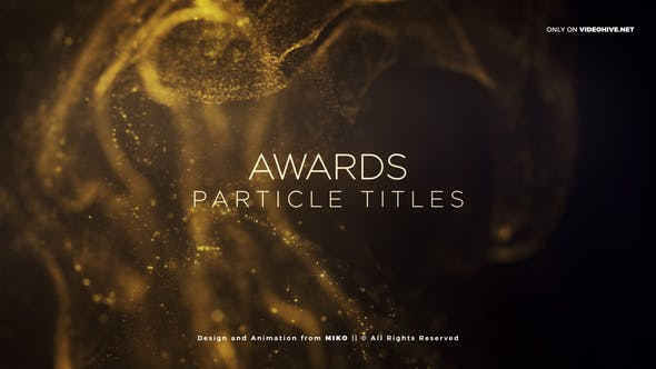 Cover Image for Awards Particles Titles