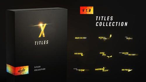 X Titles