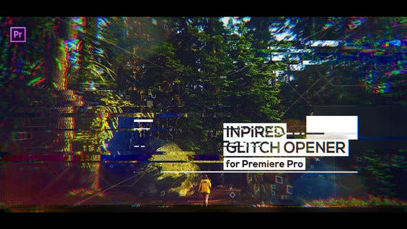 Cover Image for Glitch Inspired Opener for Premiere Pro