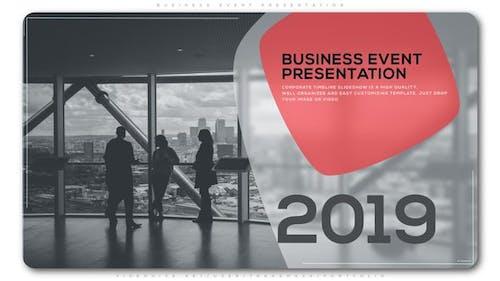 Business Event Presentation
