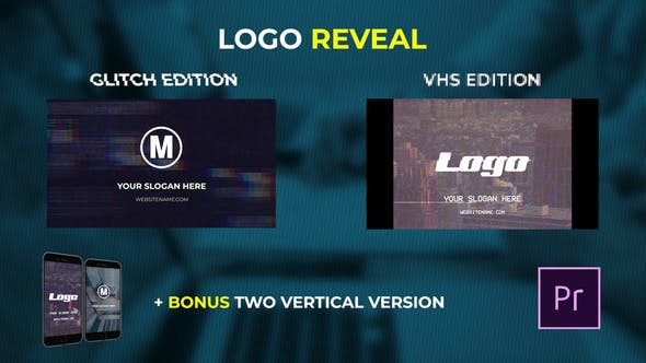 Thumbnail for Logo Reveal - VHS & Glitch Edition