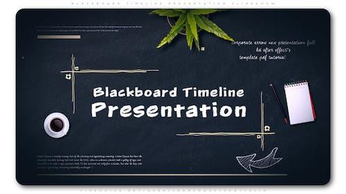 Blackboard Timeline Presentation Slideshow