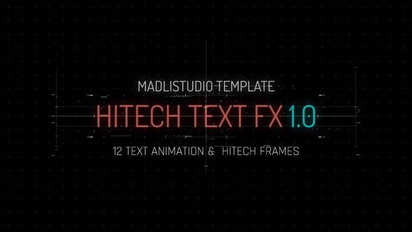 Thumbnail for Hitech Text FX