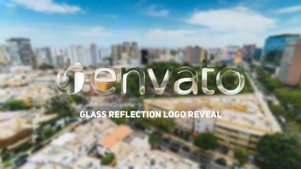 Thumbnail for Glass Reflection Logo Reveal