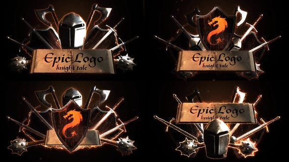 Thumbnail for Epic Battle Modular Logo Reveals