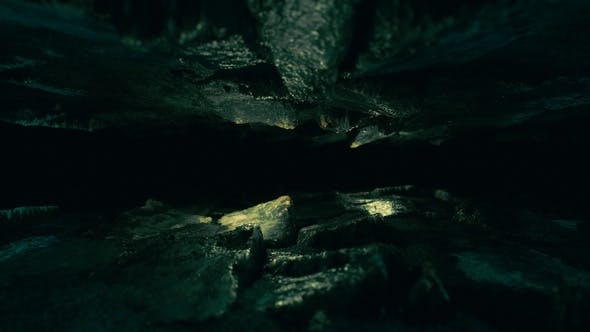 Thumbnail for Horror Background - Narrow Hole Into the Dark Cave