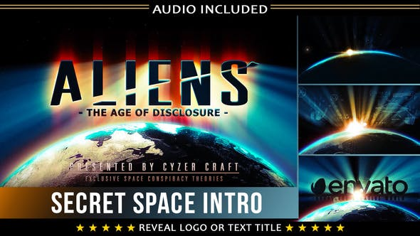 Cover Image for Space Intro | Alien Sci-fi Logo