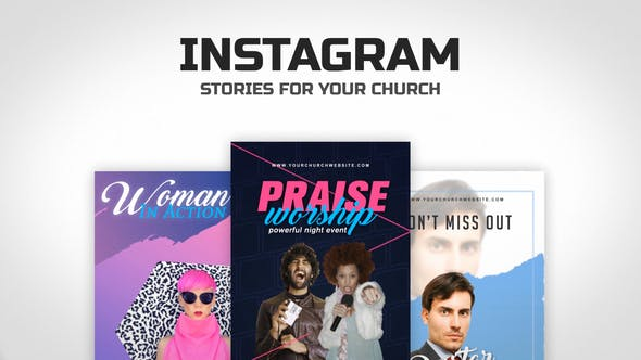Thumbnail for Church Instagram Stories