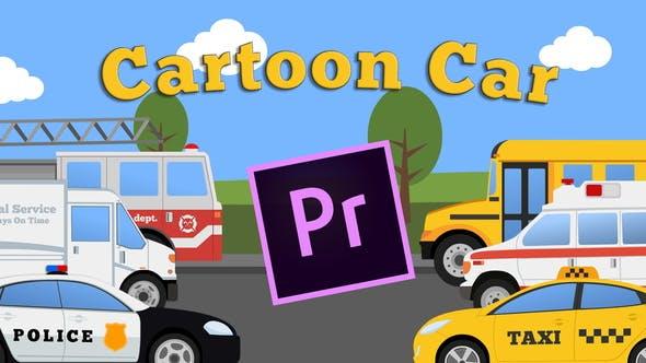 Cartoon Car Mini Pack