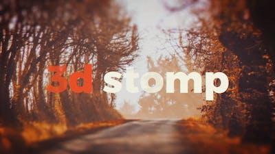 3d Stomp